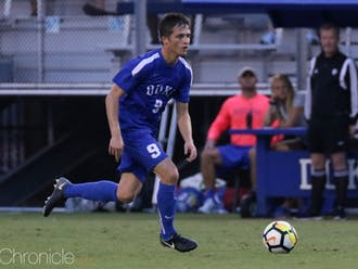 Daniele Proch buried a shot in the fourth minute to open the scoring for Duke Friday.