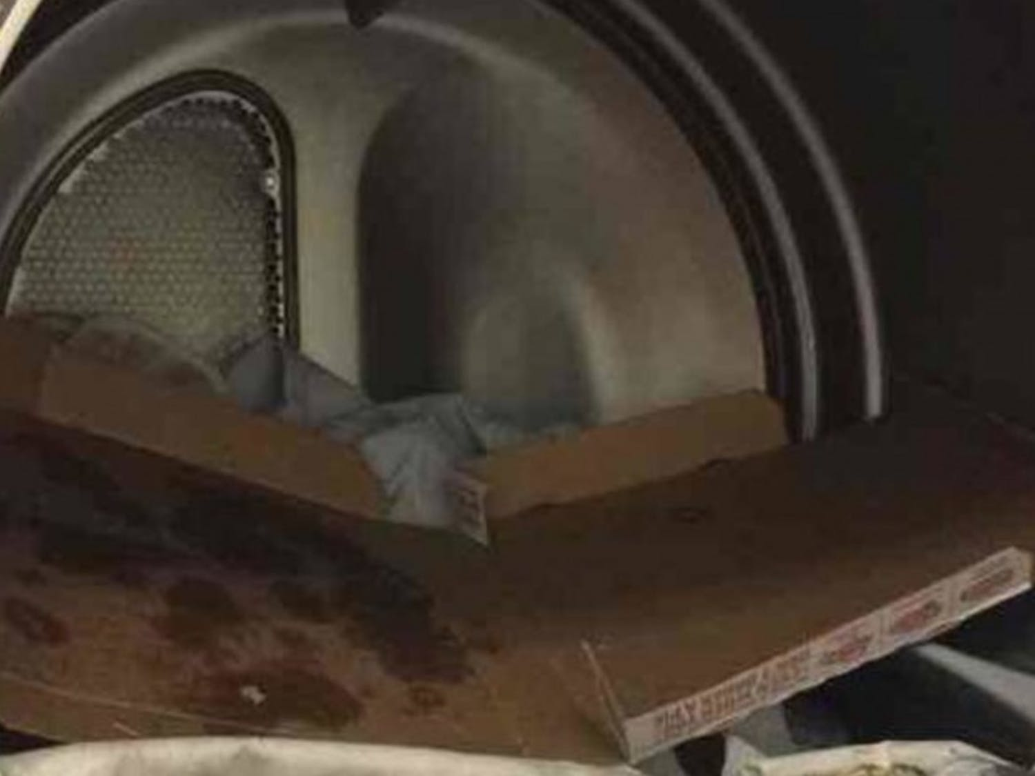 Another East Campus fire caused a residence hall to be evacuated Monday—a student found a pizza box in a dryer before the fire alarm was activated.