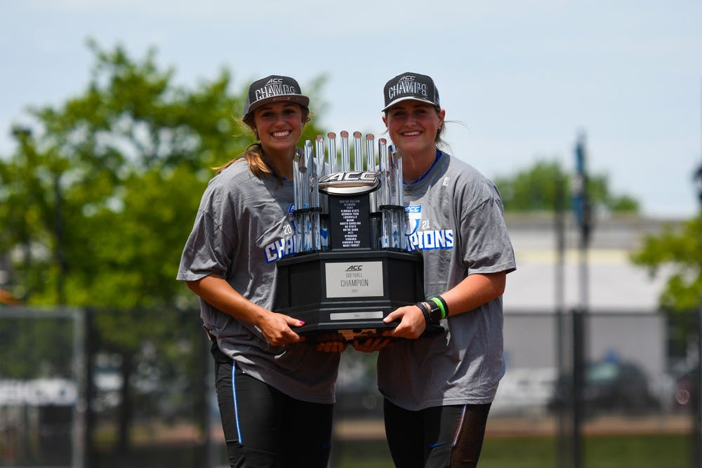Peyton St. George and Shelby Walters have combined to pitch 79% of Duke's innings.