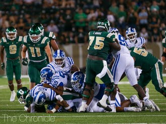 Duke's defense struggled to get off the field against Charlotte.
