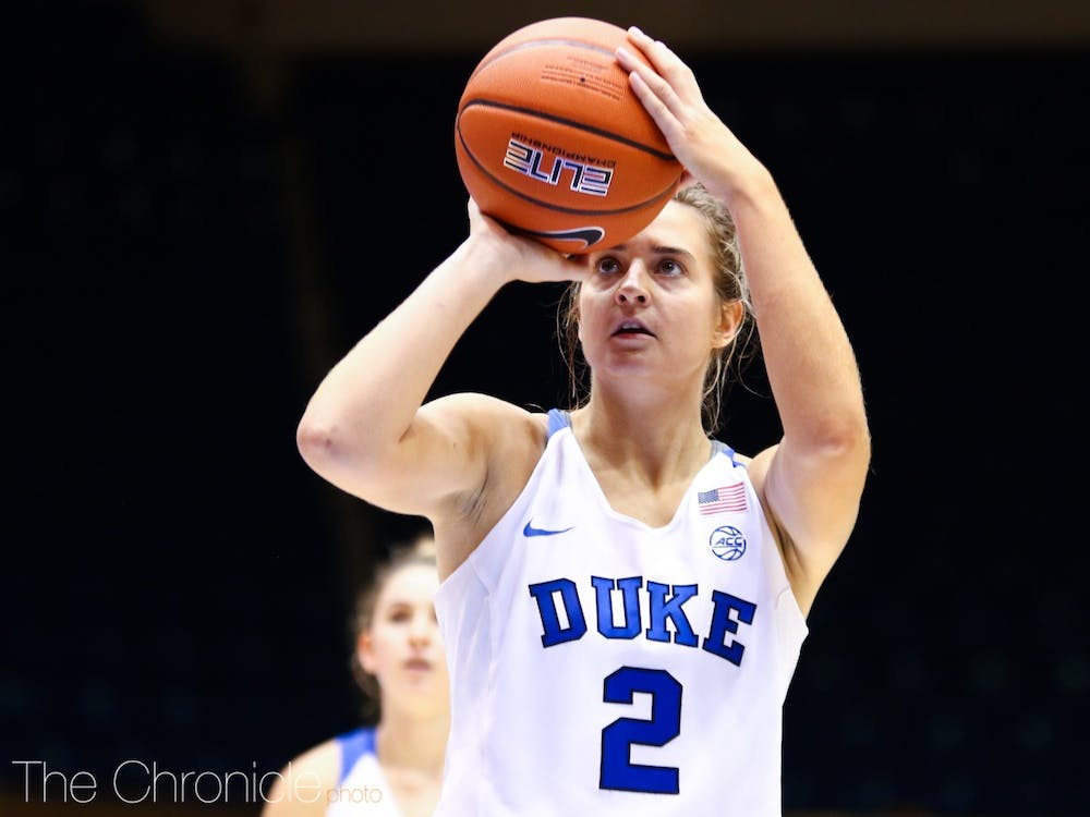 Haley Gorecki has been on a tear for Duke over the past few weeks