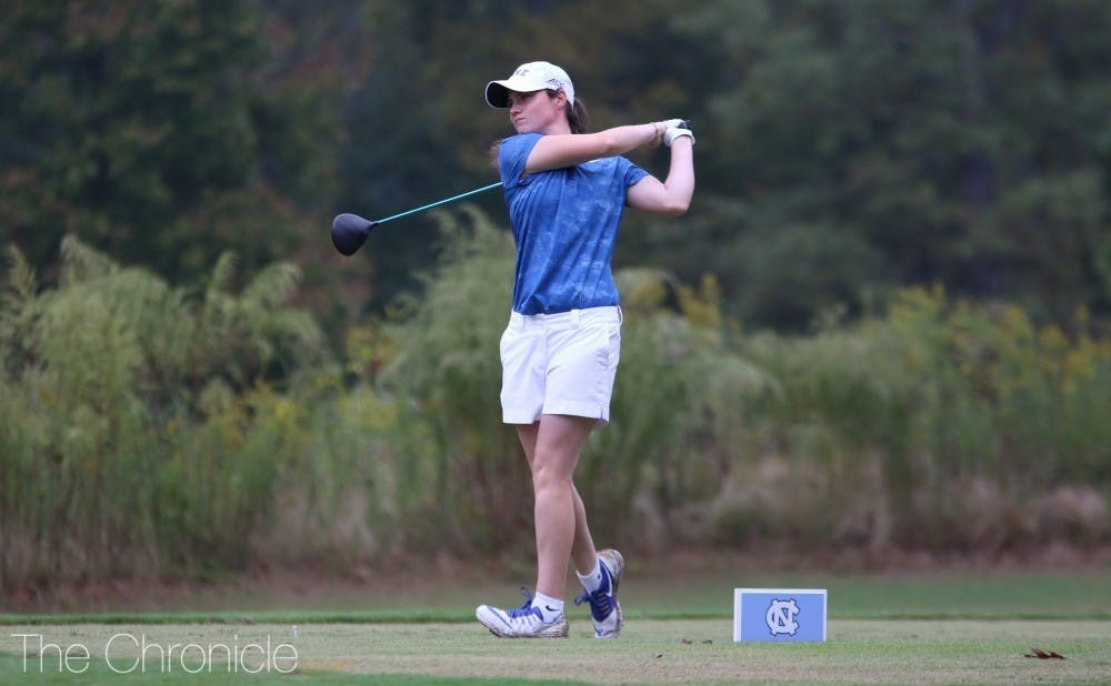 Leona Maguire will be playing for her second straight individual ACC championship this weekend.