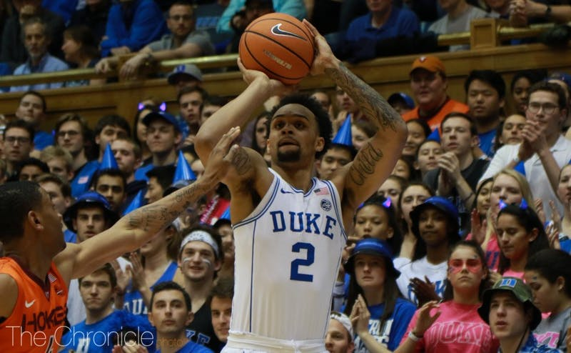 Gary Trent Jr. has been on a shooting spree, draining nearly 50 percent of his three-point attempts during conference play.