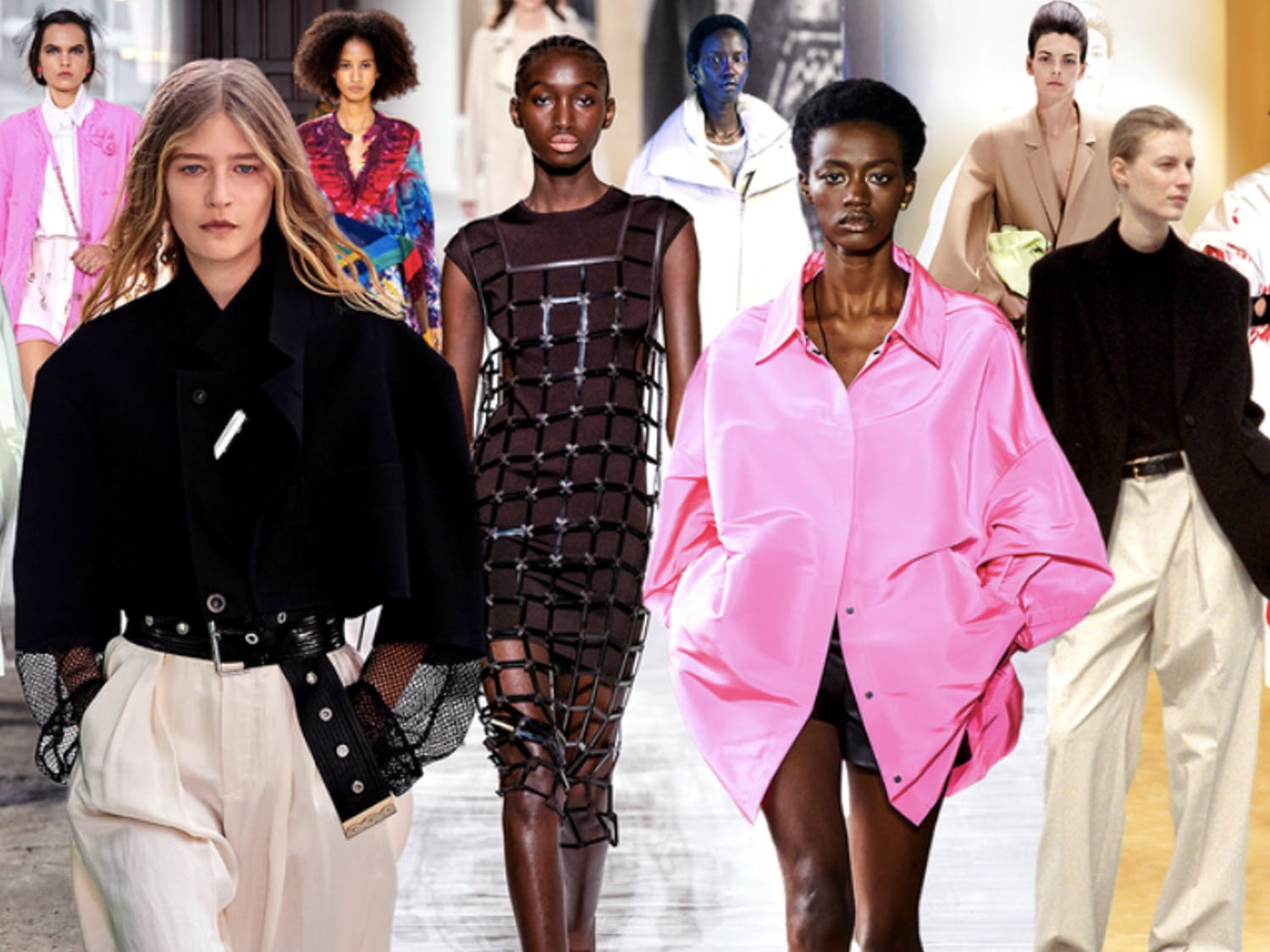 With this summer promising to be more exciting and sociable than the last, fashion is catching up on missing time with new bold trends.