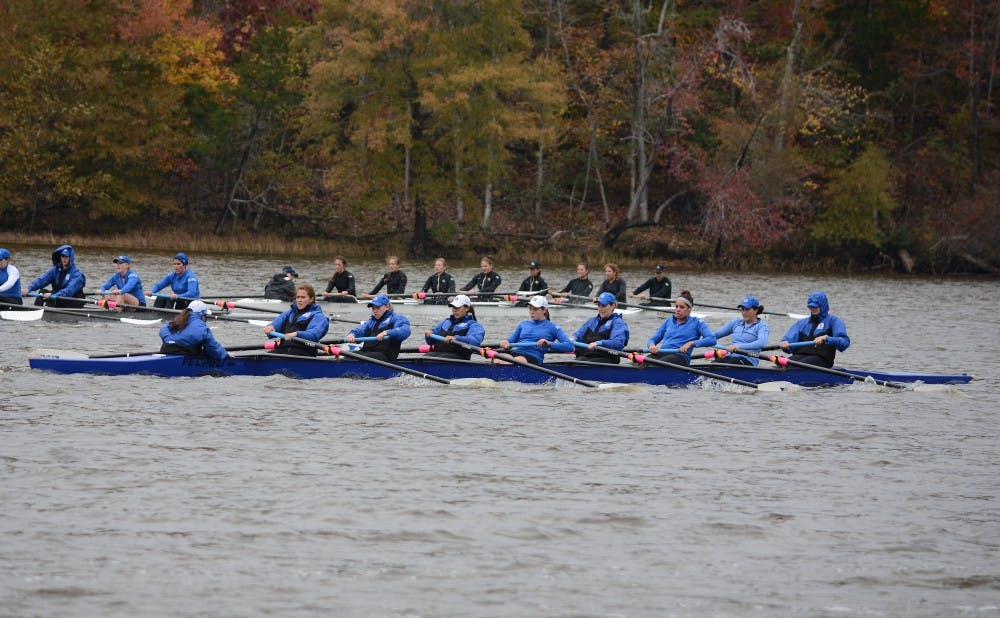 <p>The Blue Devils will take aim at two more ranked opponents in No. 14 Indiana and No. 17 Notre Dame this weekend at the Dale England Cup.</p>