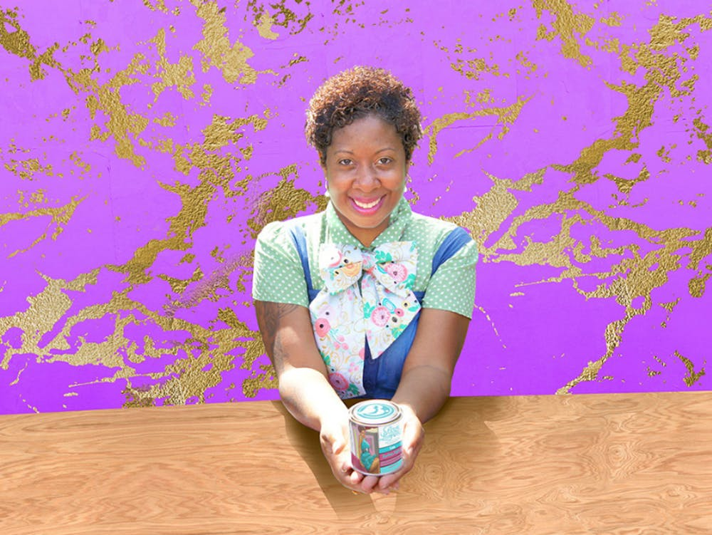 <p>Bougie Luminaries' founder and creative director Erika Parker-Smith's affinity for candle making began during childhood.</p>
