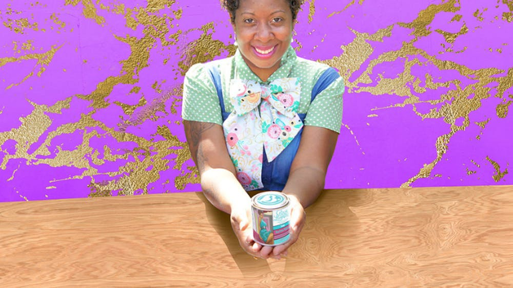 Bougie Luminaries' founder and creative director Erika Parker-Smith's affinity for candle making began during childhood.