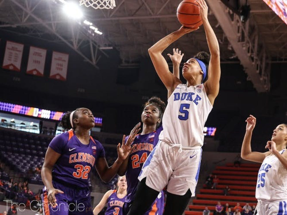 Can Leaonna Odom and the Blue Devils hold off the Yellow Jackets Sunday?