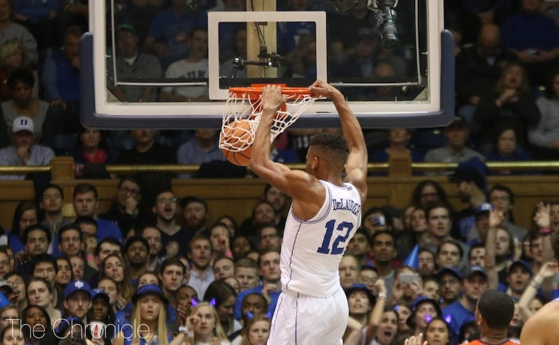DeLaurier was a force on the boards off the bench for Duke.