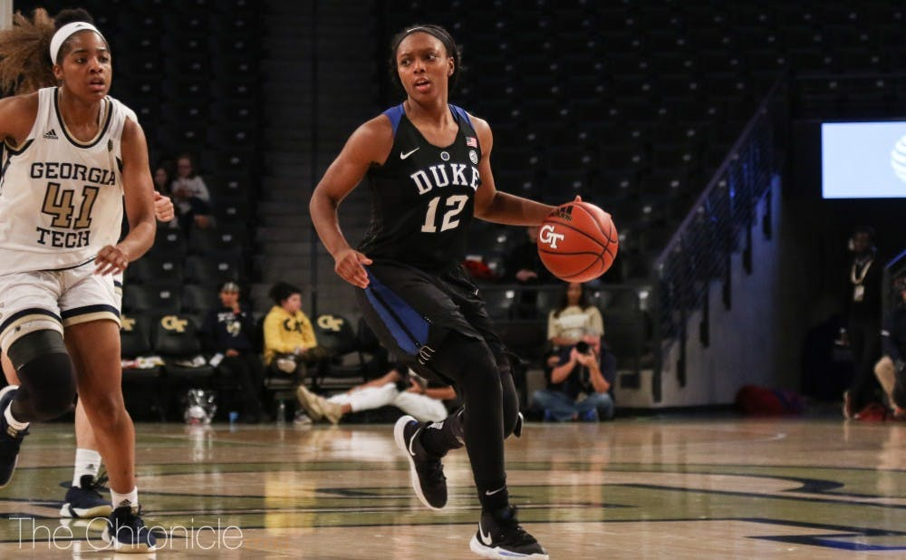 <p>Mikayla Boykin has starred since returning to the rotation.</p>