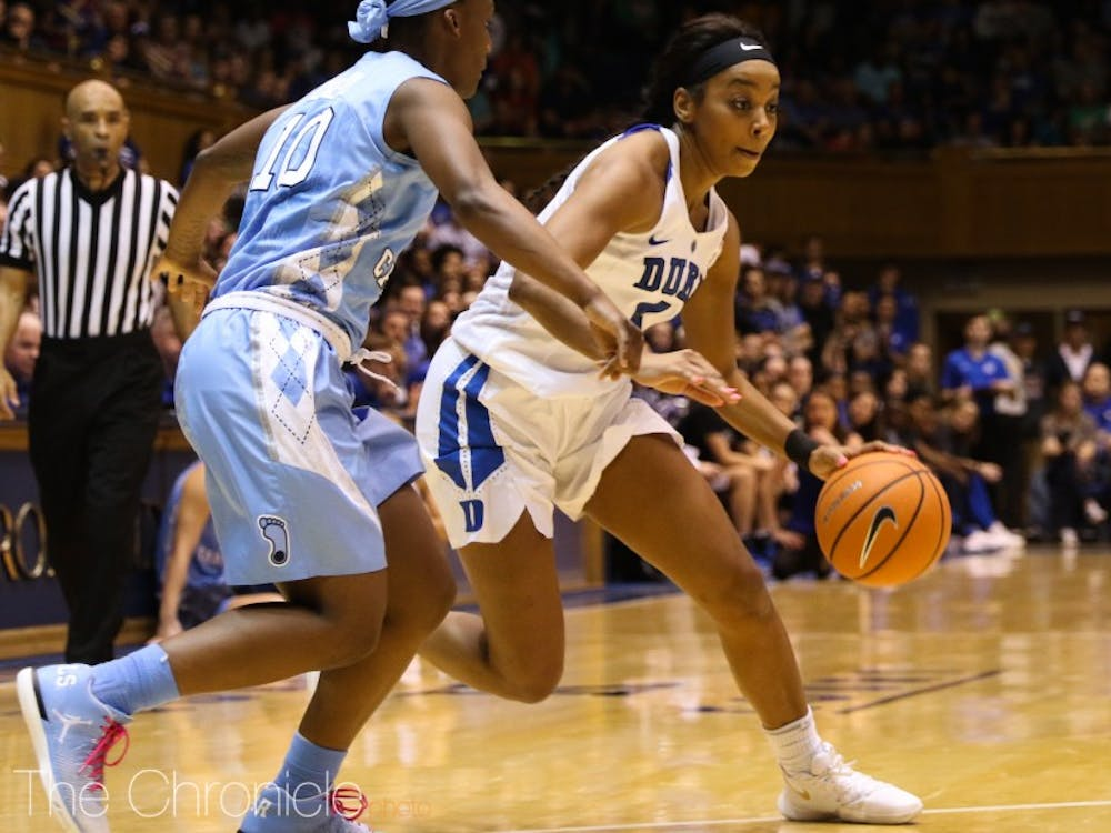 Lexie Brown scored 34 points in Duke's first meeting with N.C. State this year.