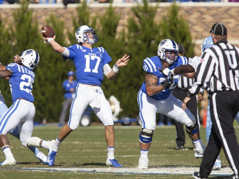 Daniel Jones will make his second consecutive bowl start for Duke in what could be his finale as a Blue Devil.