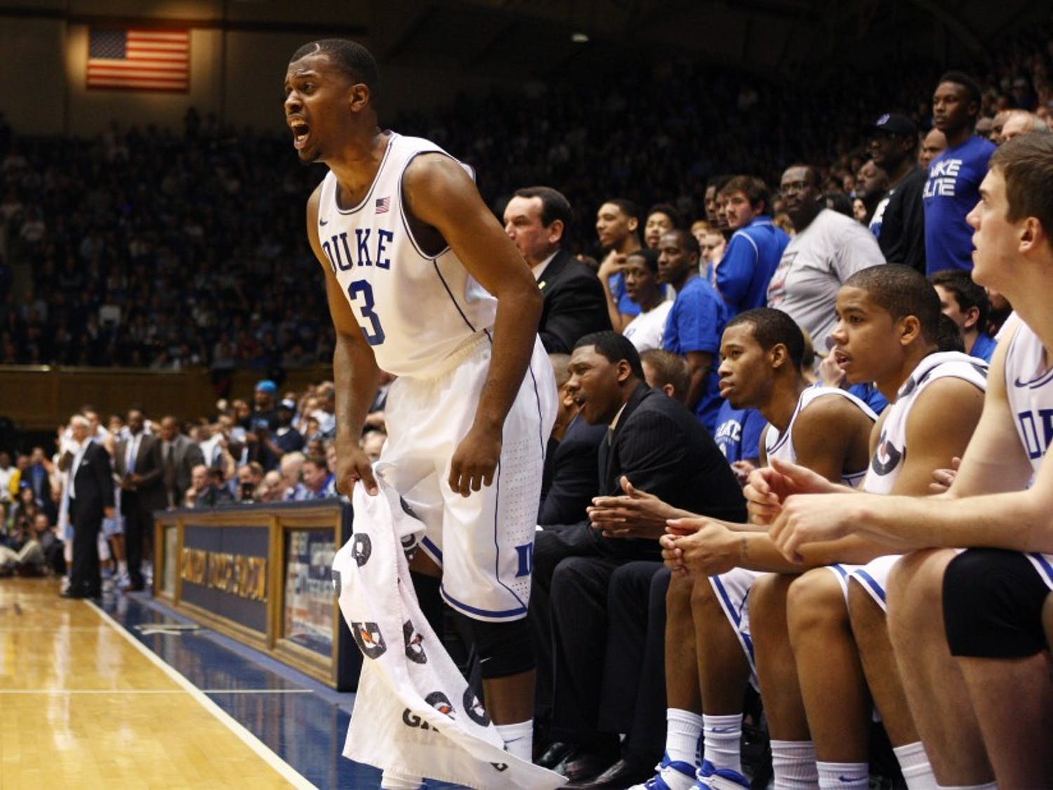 Tyler Thornton's leadership could make him a candidate to fill the void left by Steve Wojciechowski on the Duke sideline.