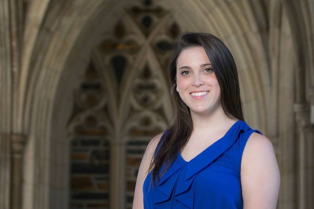<p>Senior Elena Elliott, a daughter of immigrants, will deliver her speech on her path to college at this year's commencement ceremony.</p>
