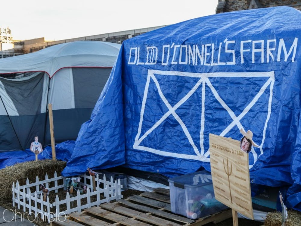 Photography Editor Sujal Manohar stopped by Krzyzewskiville to find the most interesting and creative tents of the 2019 tenting season.