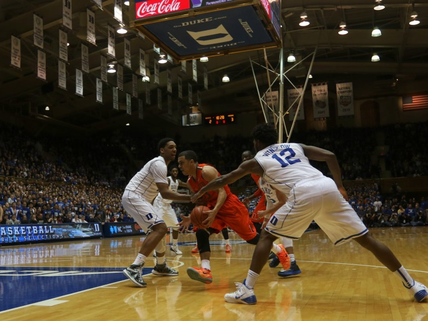 Duke's defense was exposed again against Angel Rodriguez and company Tuesday night.