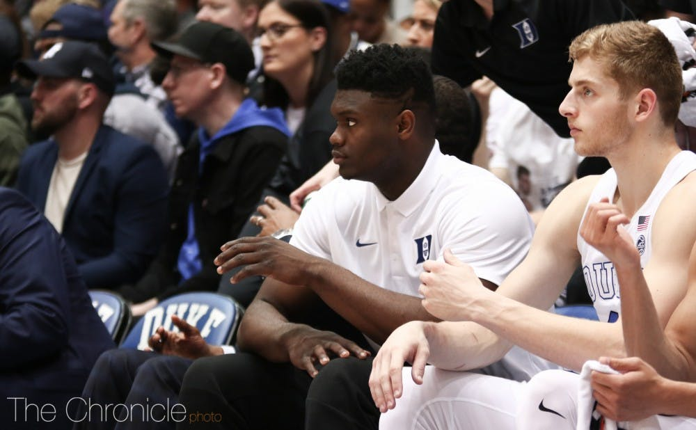 <p>Zion Williamson has been accused by lawyer Michael Avenatti of accepting payments from Nike officials.</p>