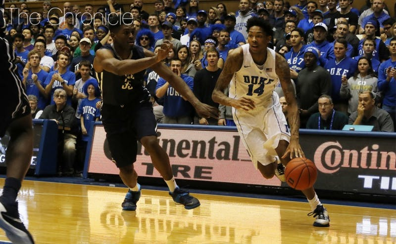 Freshman Brandon Ingram scored 15 points off the bench Wednesday in perhaps his best all-around game of the season.