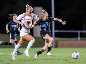 Graduate student Tess Boade scored what turned out to be the game-deciding goal in the 26th minute of the contest.