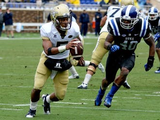 Georgia Tech was the preseason favorite to win the ACC Coastal Division but has yet to pick up a win in conference play, an example representative ofa national trend in which teams deemed to bepreseason powerhouses have fallen farshort of expectations.