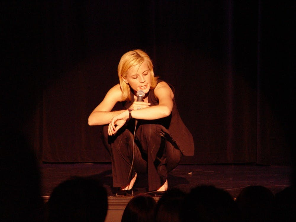 <p>Comedian Maria Bamford performs her signature style of witty and surreal stand-up. Her Netflix original series 'Lady Dynamite' takes a pioneered&nbsp;approach in addressing mental health with comedy.&nbsp;&nbsp;</p>
