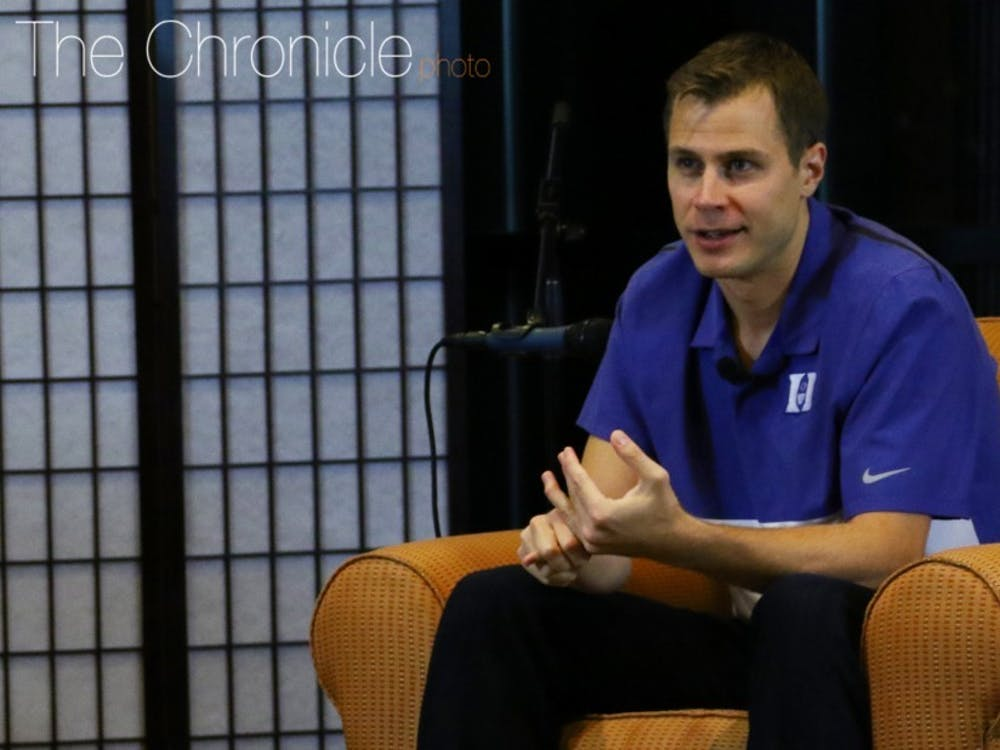 Jon Scheyer will not be on the bench for Saturday's contest due to an appendectomy.