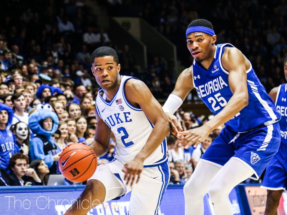 Cassius Stanley has cemented himself in Duke's starting lineup.