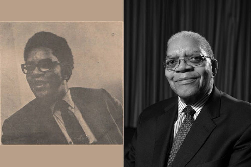 <p>Samuel DuBois Cook joined the faculty as a visiting professor in 1965, but was convinced to stay on.</p>