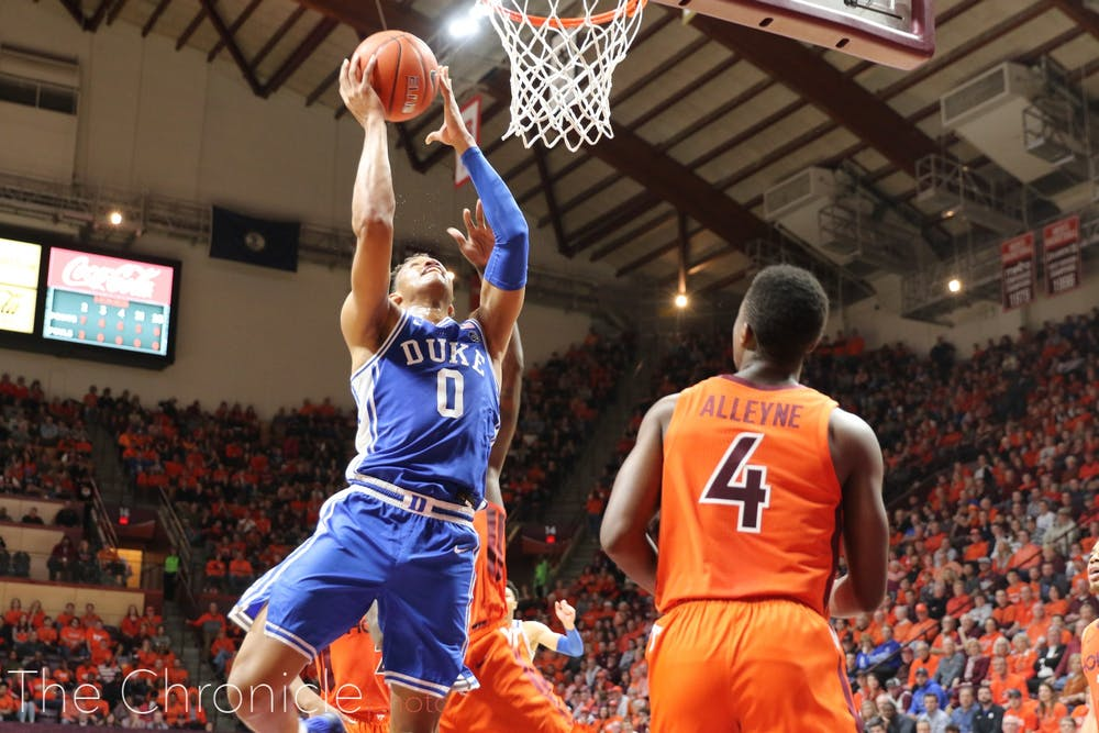 <p>Wendell Moore and company face off against Wofford Thursday.</p>