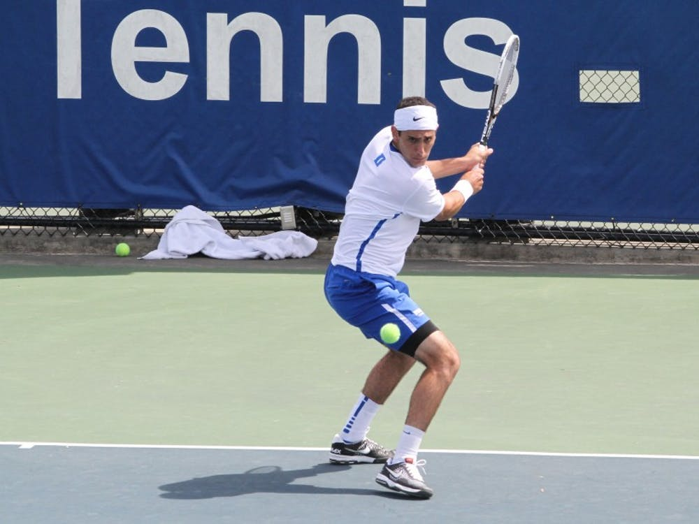 Despite the loss to Tennessee, Fred Saba's Duke career is not over yet, as he will compete with Jason Tahir in the singles NCAA tournament.