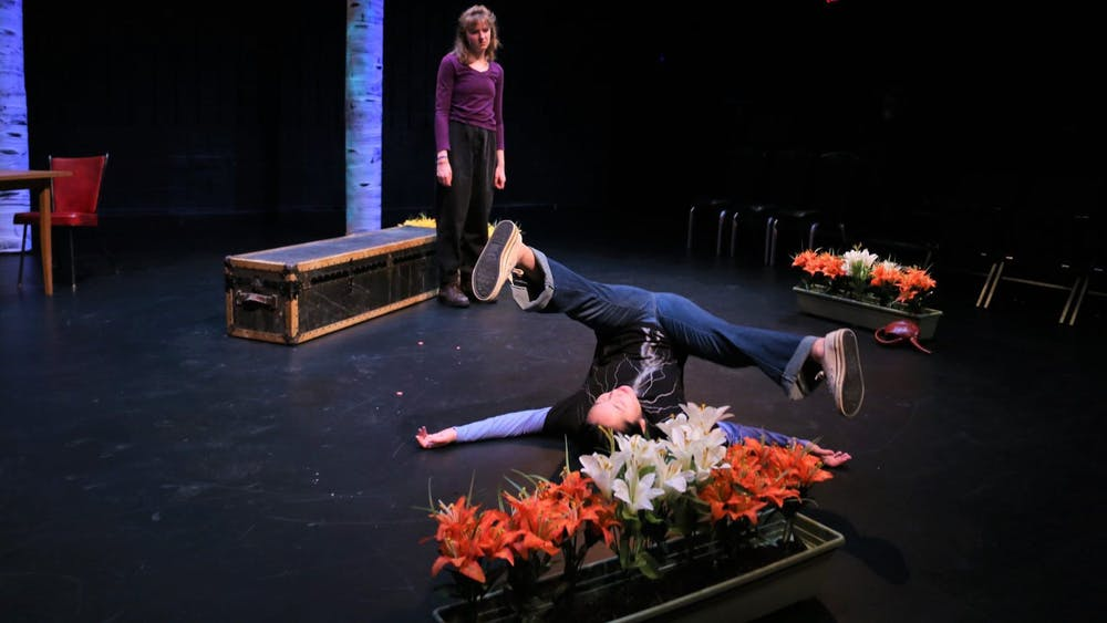 """The Roadkill Club"" is the culmination of months of work for senior Valerie Muensterman, who double majors in English and theater studies."
