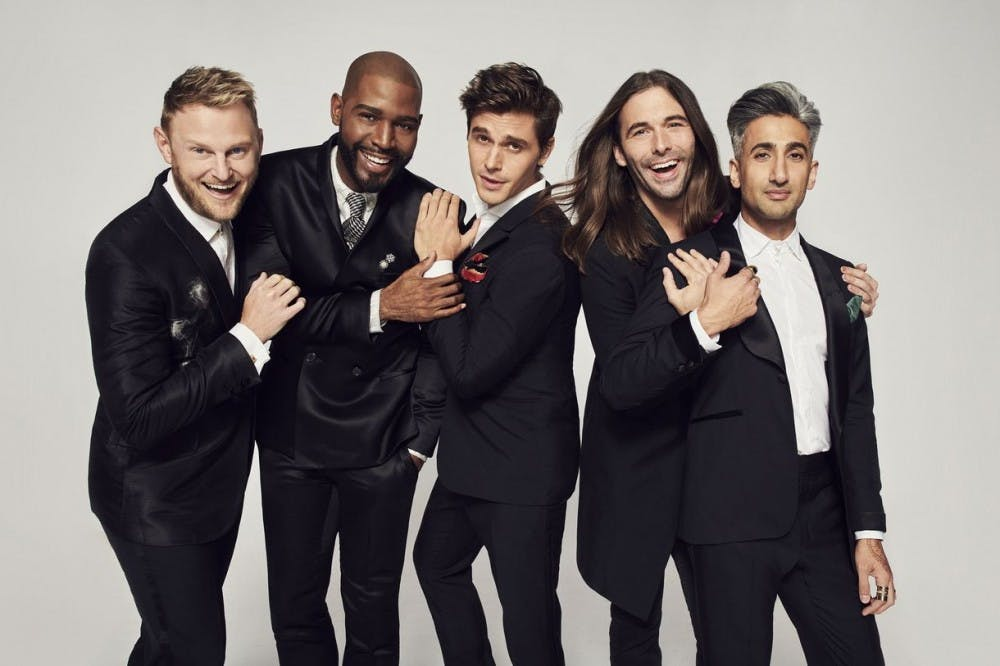 "<p>""Queer Eye"" follows the ""Fab Five,"" a group of gay men each with their own area of expertise, as they make over the life of a straight man in need.&nbsp;</p>"