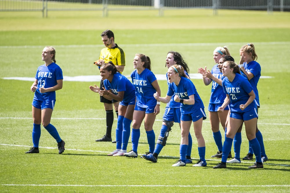 It was a true team effort keeping Florida State scoreless in Duke's NCAA tournament match.
