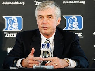 Kevin White announced Friday that he will retire from his position as Duke's athletic director in August.