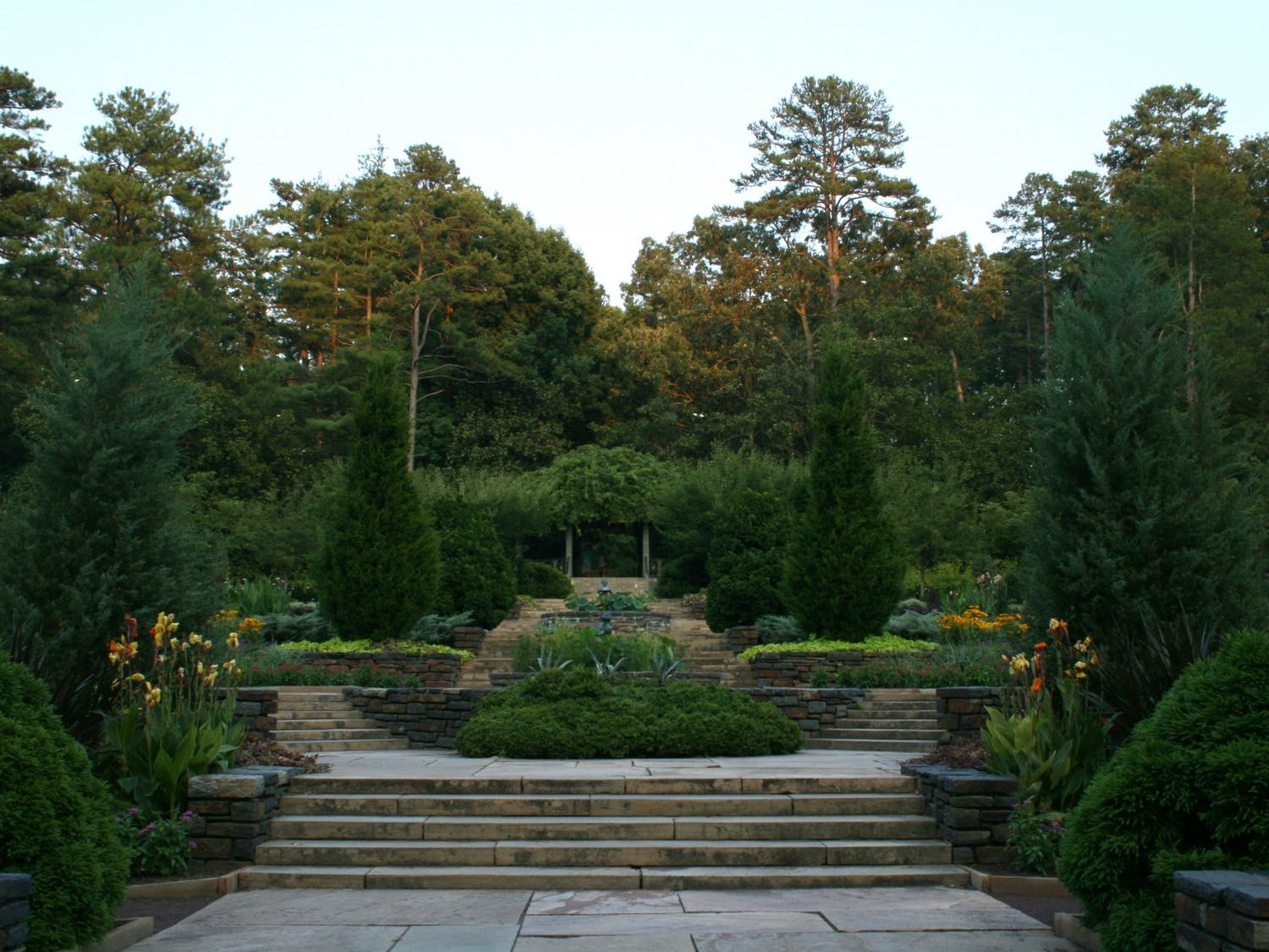 Guided study breaks are one way for students to access the Duke Gardens, which are mostly closed due to the COVID-19 pandemic.