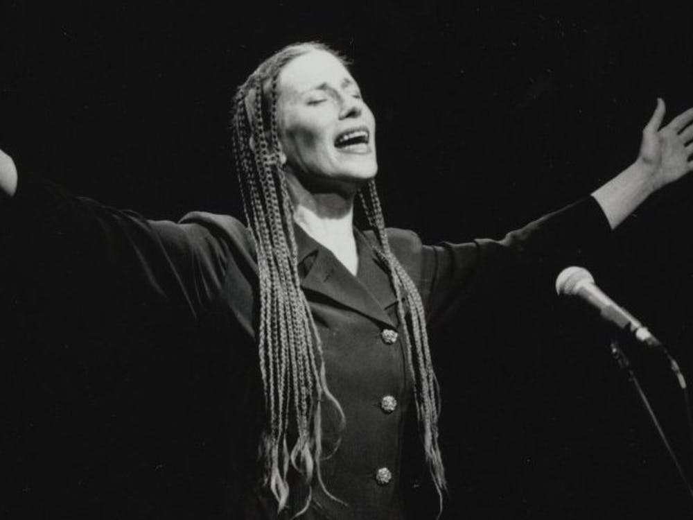 """<p>""""Memory Game"""" is a critical look at nine works from Meredith Monk's career in experimental performance.</p>"""