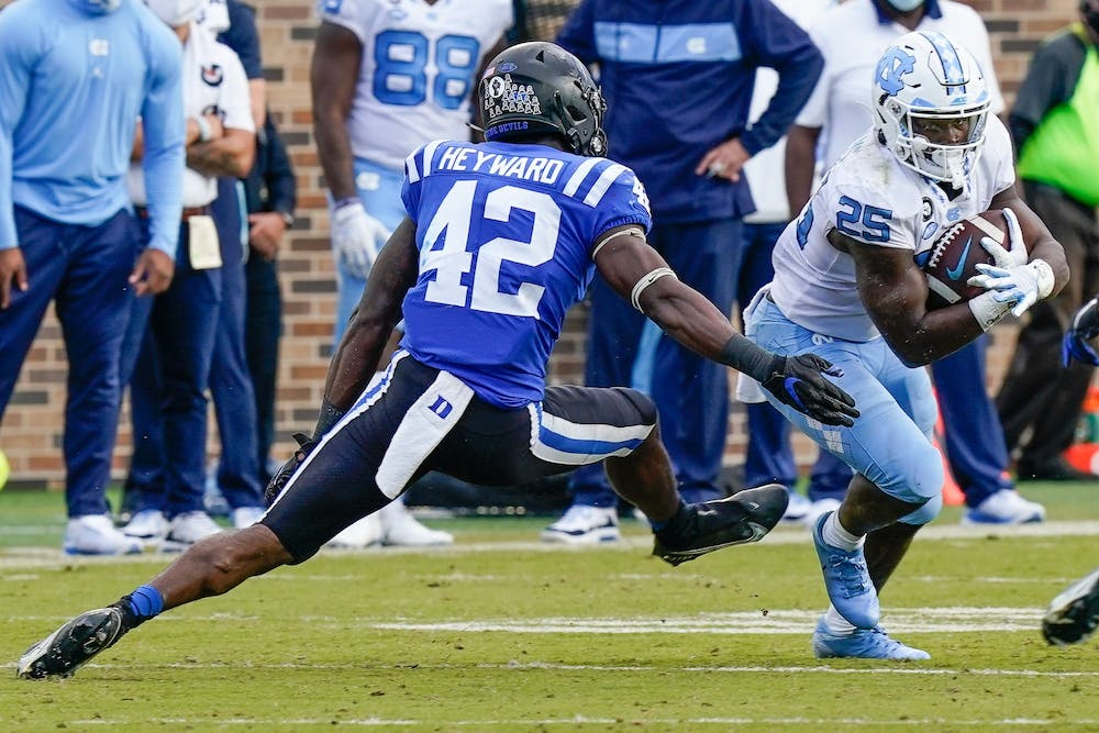 <p>The Blue Devils have a tough task in the second half with the Hurricanes, their second top-10 opponent this year.</p>