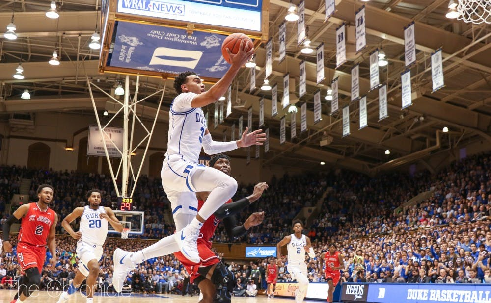 <p>Tre Jones will be asked to play lockdown defense against Boston College.</p>