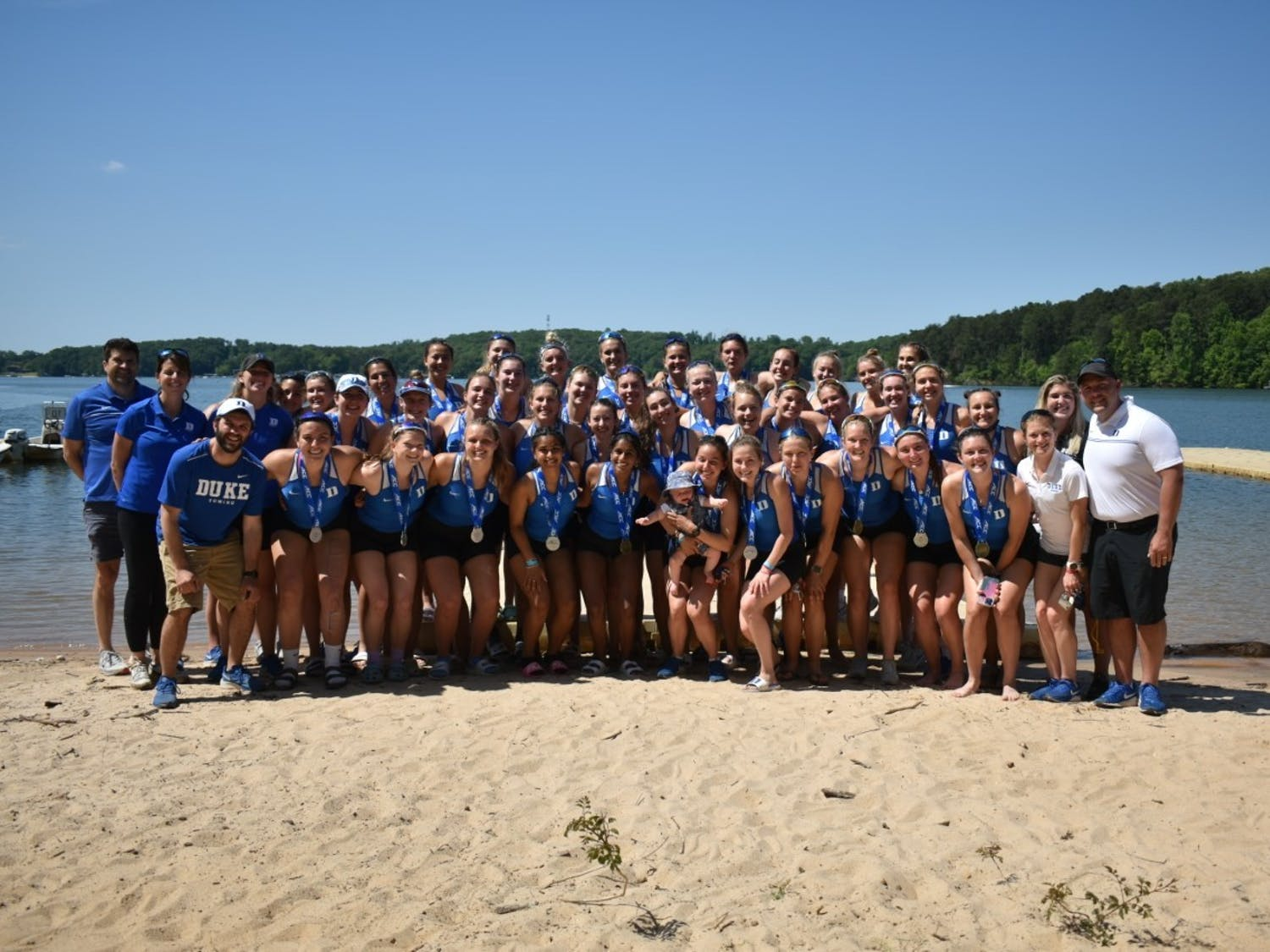 Duke took home second-place honors at the ACC Championship Friday and Saturday.