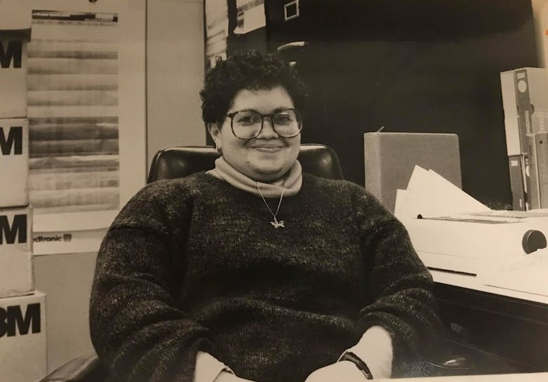 Dr. Brenda Armstrong, Feb. 1, 1985 | Photo by Will Hicks