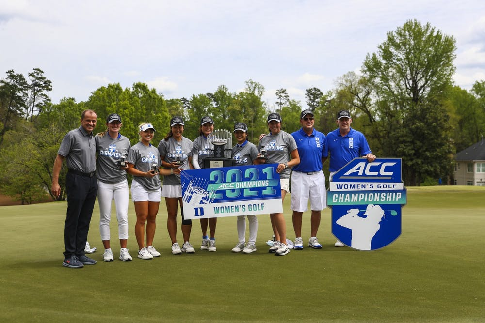 <p>The Blue Devils swept No. 3 seed Florida State to seal their 22nd ACC Championship in program history.</p>