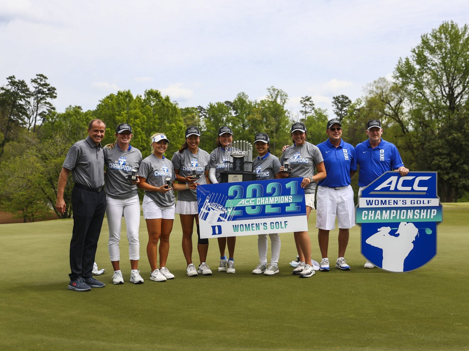 The Blue Devils swept No. 3 seed Florida State to seal their 22nd ACC Championship in program history.