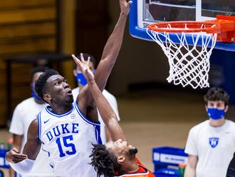Mark Williams set the tone early for the Blue Devils.