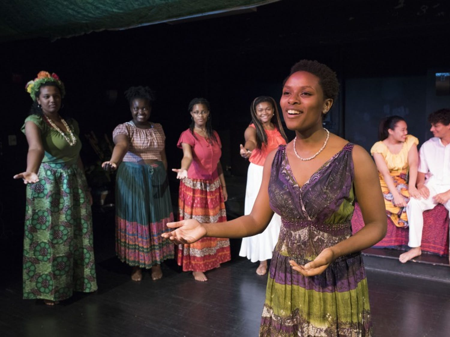 """Duke Players' first musical of the year, """"Once on this Island,"""" runs in Brody Theater Oct. 21 to Oct. 29."""