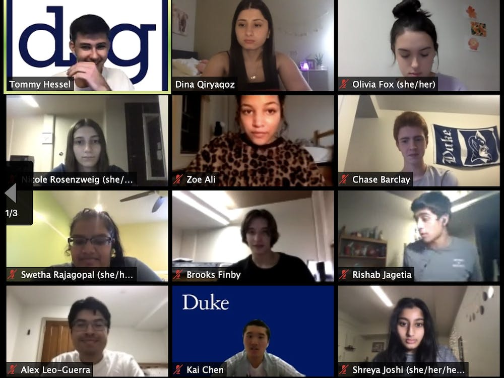 <p>The Duke Student Government Senate welcomed new members at its Sept. 16 meeting.&nbsp;</p>