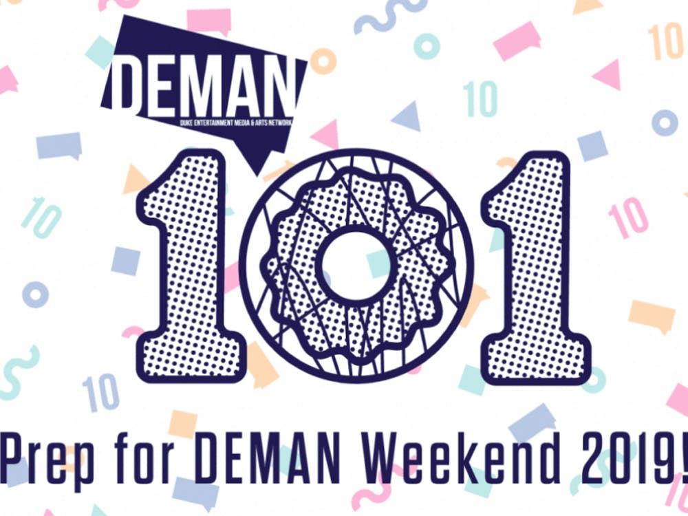 DEMAN 101, held Wednesday evening in the Rubenstein Arts Center lounge, prepares students for DEMAN Weekend, scheduled for Nov. 1–2.
