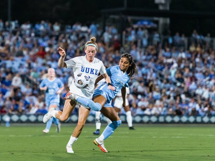 Tess Boade scored the lone goal in Duke's win against North Carolina.