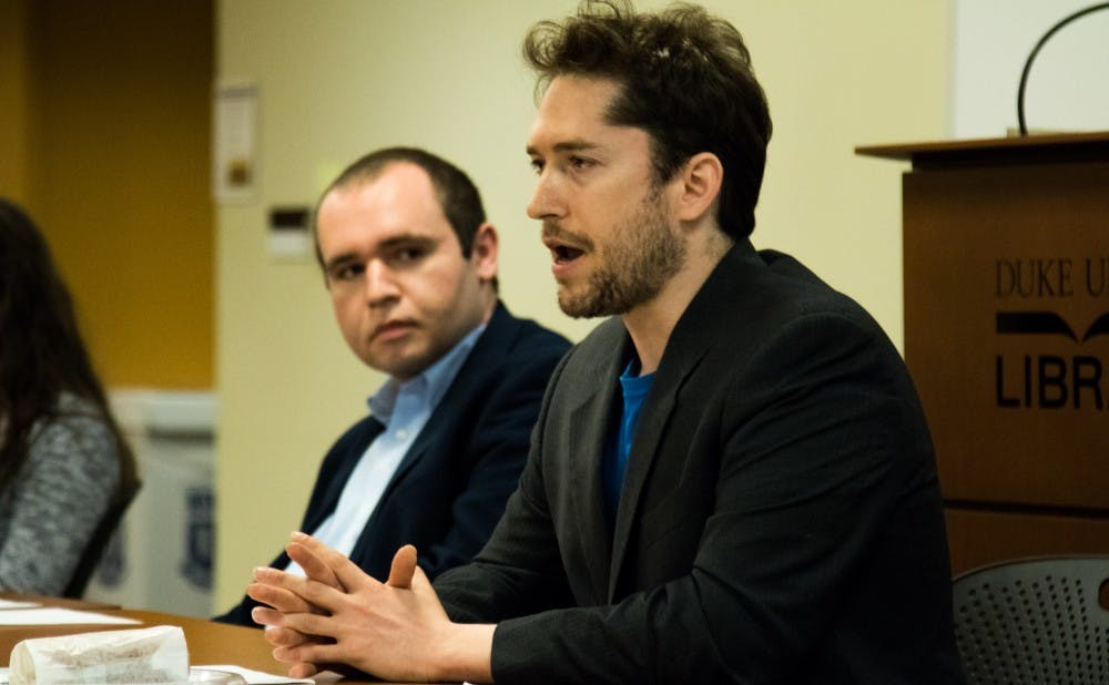 <p>Darren Beattie argued that Trump's immigration ban has not been effective in preventing refugees from entering the country.&nbsp;</p>