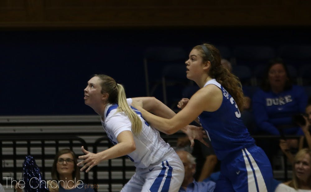 <p>Emily Schubert will look to finally get consistent playing time in her senior season.</p>