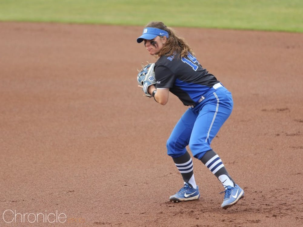 Raine WIlson became the first Duke player ever to receive first-team All-ACC recognition Tuesday.